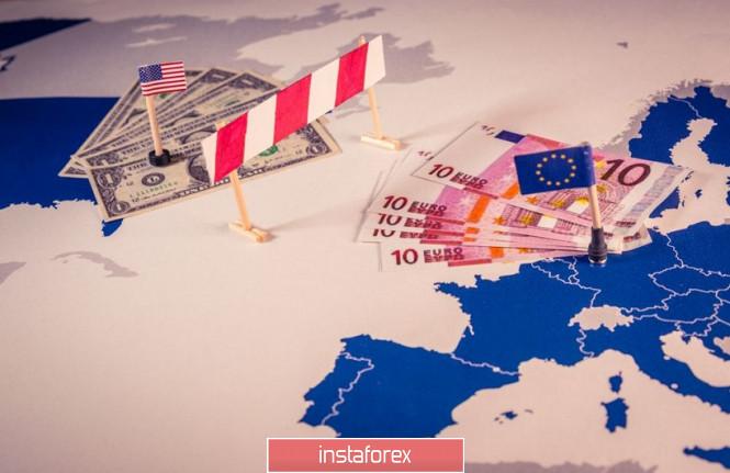 InstaForex Analytics: EUR / USD:  another break-in line between US and EU