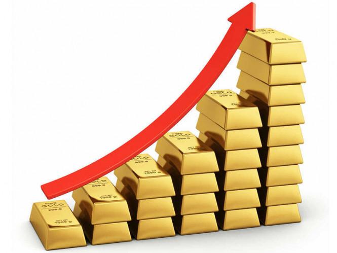 Gold auf einem Postament: Der Anstieg des Edelmetallpreises ist logisch