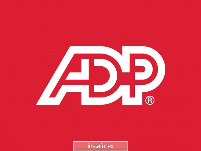 InstaForex Analytics: EUR/USD. Los toros del dólar están asustados por el informe de ADP