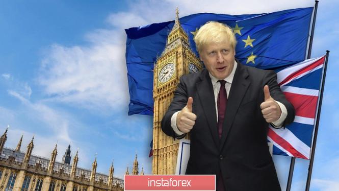 InstaForex Analytics: GBP/USD. Bước ngoặt của đồng tiền Anh: Johnson lặp lại con đường của Theresa May