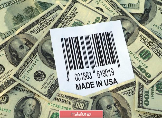 InstaForex Analytics:  EUR/USD. Byki dolarowe są przygnębione słabym wzrostem przemysłu