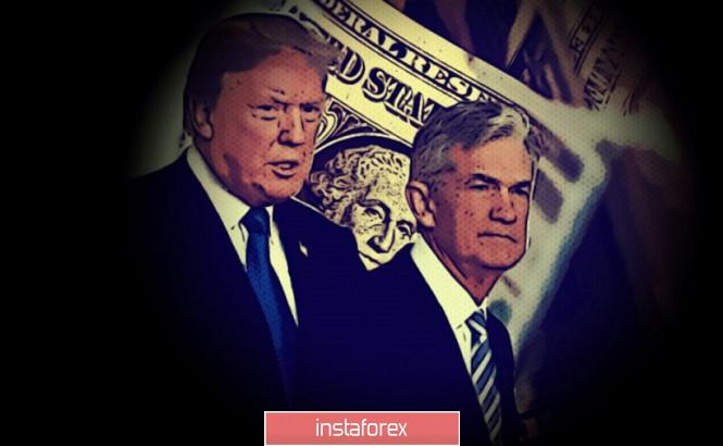 InstaForex Analytics: EURUSD. Predictable Powell, controversial Trump and U.S. inflation