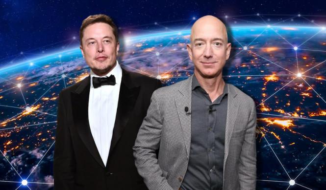 Microsoft и SpaceX пытаются вытеснить Amazon из космоса