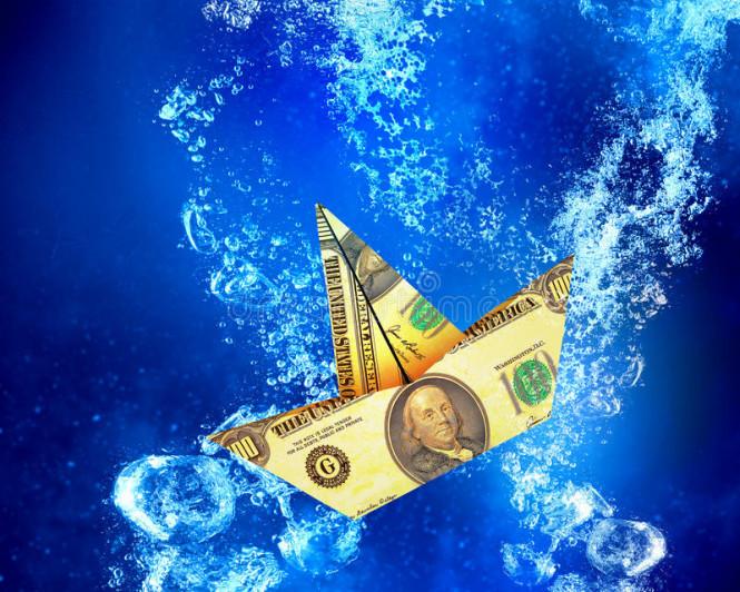 US dollar sharply declined again