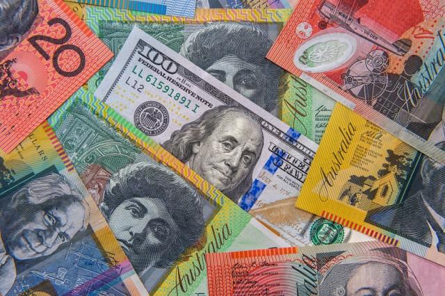AUD / USD. Mục tiêu tăng chính là mức 0,7470