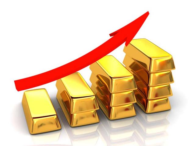 黄金价格加速