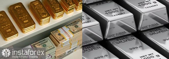 Обвал золота