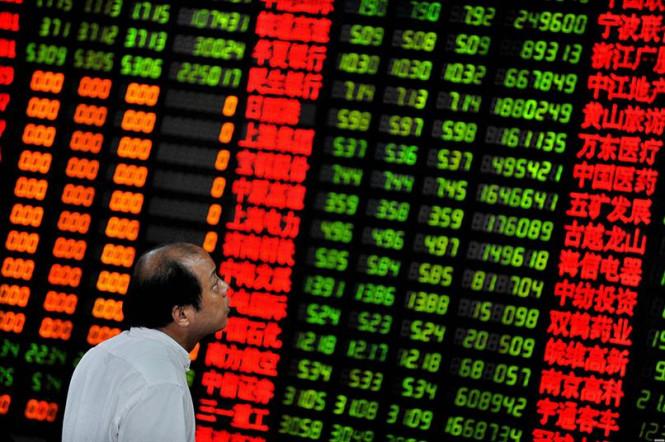 Фондовая Азия стремительно снижается, тогда как в Европе отмечается рост
