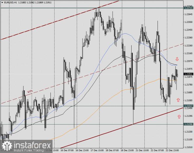 Анализ и прогноз по EUR/USD на 23 декабря 2020 года