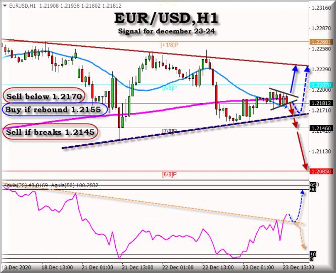 Trading Signal for EUR/USD for December 23 - 24, 2020