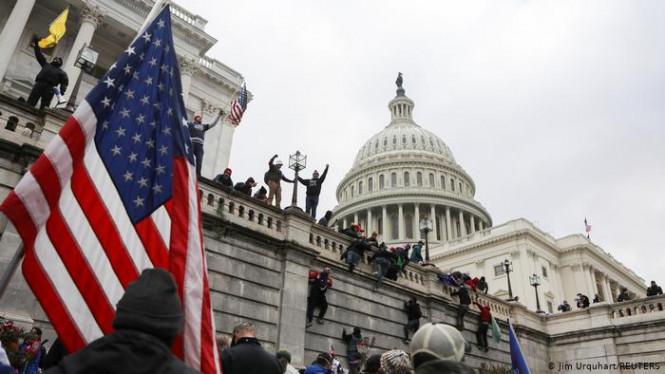 It's not my business: почему мировые фондовые рынки проигнорировали штурм Капитолия в Вашингтоне?