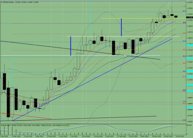 analytics5ffbf9957ee86 - Технический анализ на неделю, с 11 по 16 января, валютная пара EUR/USD