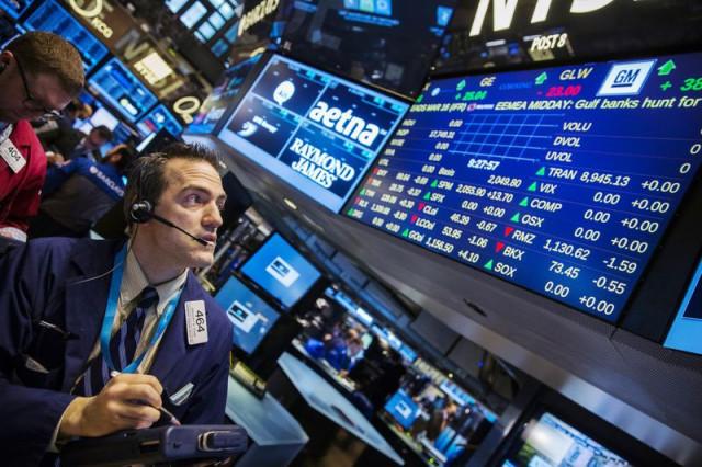 美国股市在新的风险中下跌