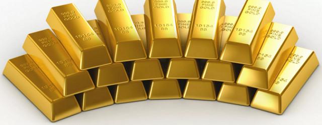 在美元上涨之际而黄金价格下跌