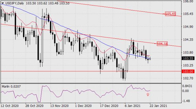 Prognose für den 22. Januar 2021 USD/JPY
