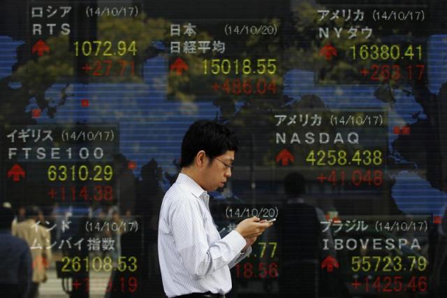 Asian stocks rise on positive statistics