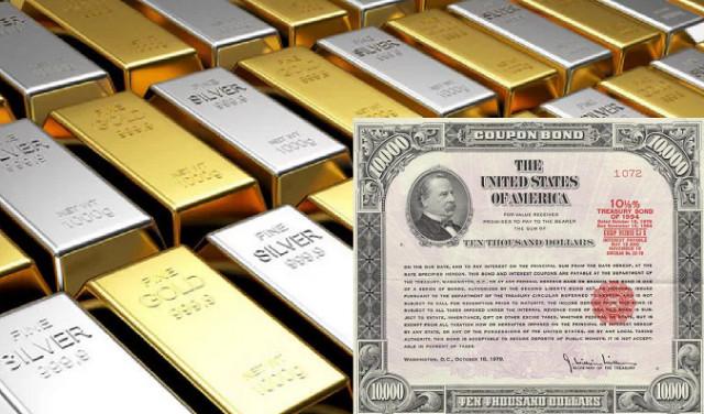 El oro se desplomó en febrero