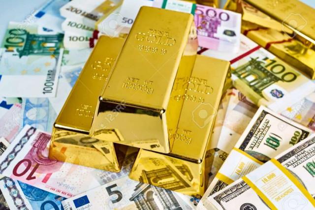 El oro sigue débil en medio de los crecientes rendimientos del bono y la creciente demanda del dólar estadounidense
