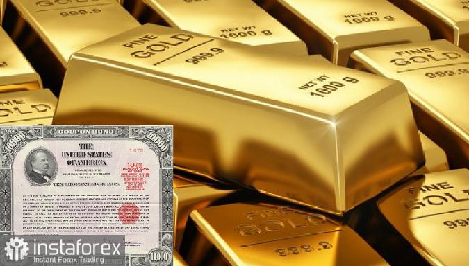 Vàng và trái phiếu