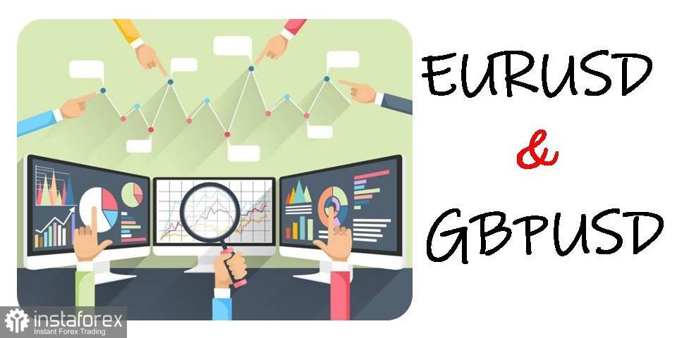 Cadangan perdagangan untuk pedagang baru EUR / USD, GBP / USD dan DXY pada 22 Mac 2021