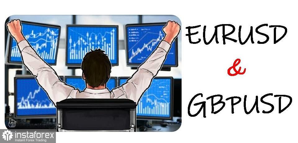 Cadangan dagangan untuk permulaan pasangan mata wang EUR/USD, GBP/USD dan DXY pada 24 Mac 2021