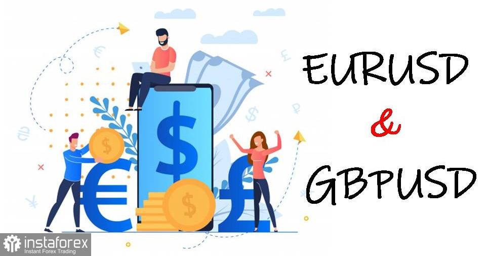 Cadangan perdagangan untuk pedagang baru EUR / USD, GBP / USD dan DXY pada 25 Mac 2021