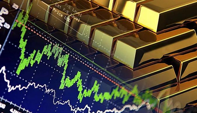 Золото  уже ниже 1700 долларов за унцию
