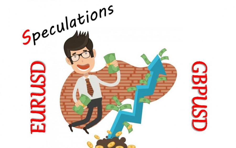 Неудержимые спекулянты – валютные пары EURUSD и GBPUSD