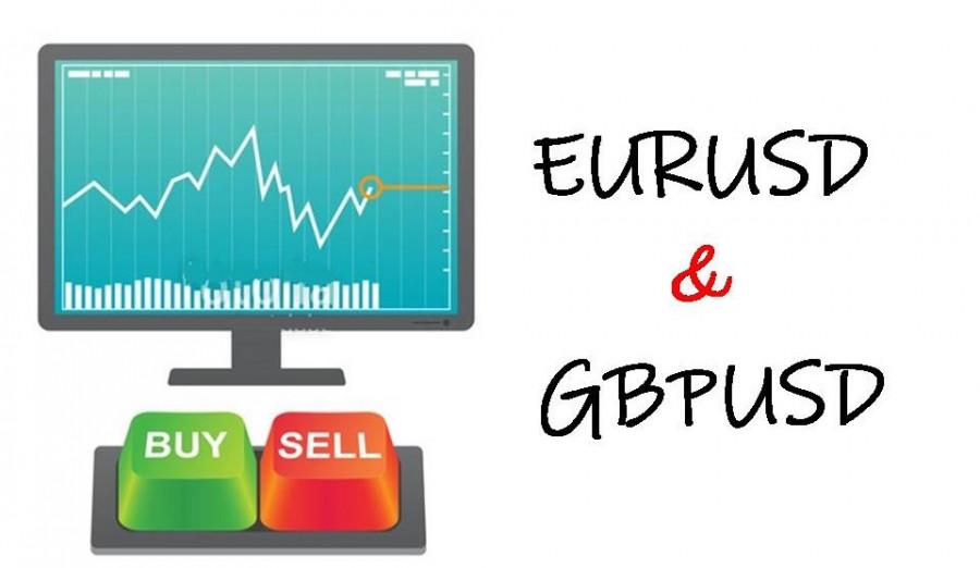 Торговые рекомендации по валютному рынку для начинающих трейдеров EURUSD и GBPUSD 08.04.21