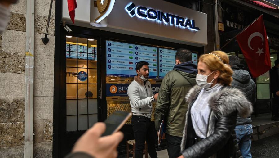 BITCOIN: Минус один. В Турции с 30 апреля запрещены все криптовалюты. Институциональный инвесторы приходят в рынок все чаще
