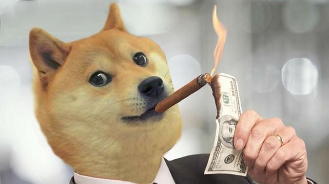 Dogecoin более 400% за неделю