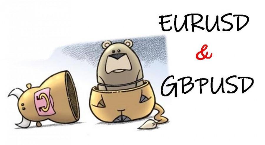 Торговые рекомендации по валютному рынку для начинающих трейдеров EURUSD и GBPUSD 21.04.21