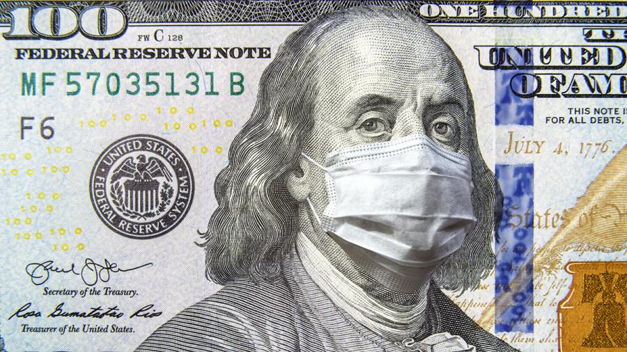 COVID-19 играет на руку доллару США, который вновь дорожает