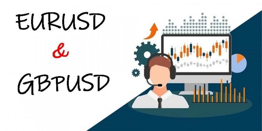 Торговые рекомендации по валютному рынку для начинающих трейдеров EURUSD и GBPUSD 23.04.21