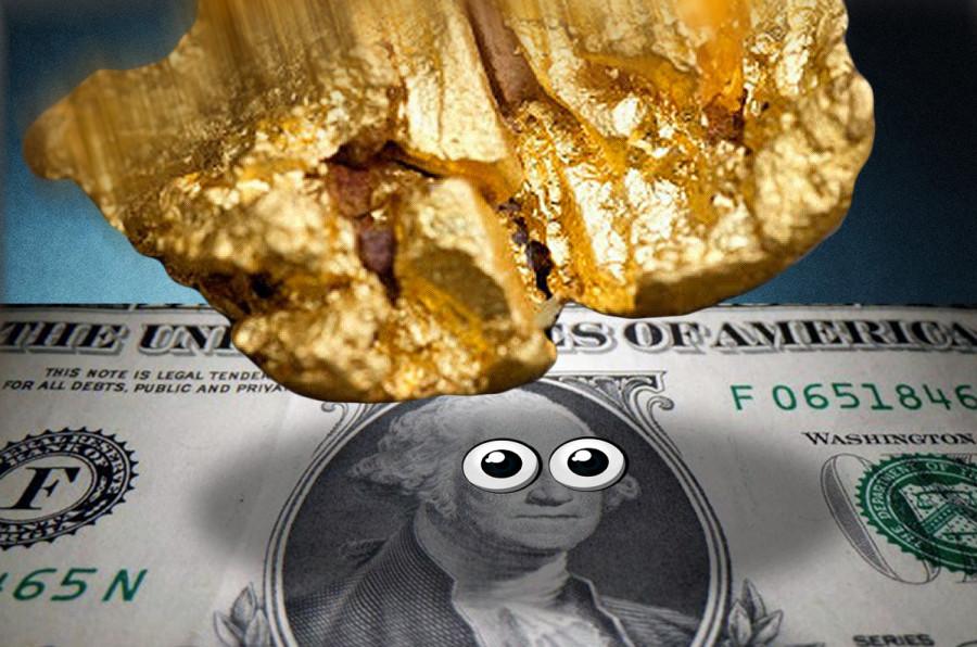 Золото дорожает на слабости доллара