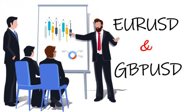 Торговые рекомендации по валютному рынку для начинающих трейдеров EURUSD и GBPUSD 12.05.21