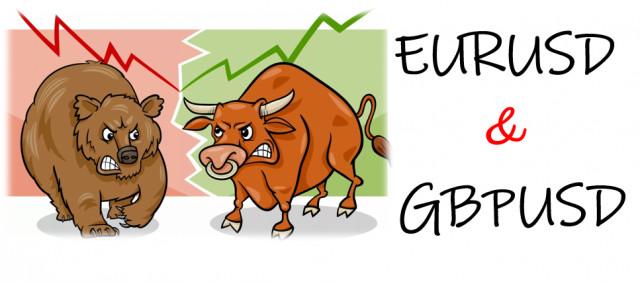 Торговые рекомендации по валютному рынку для начинающих трейдеров EURUSD и GBPUSD 13.05.21