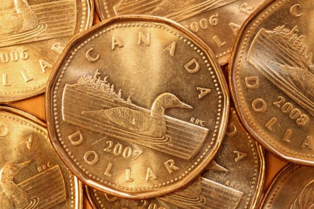 美元/加元:加元努力攀升