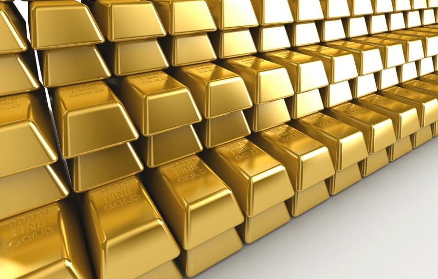 Цены на золото выросли вторую неделю подряд