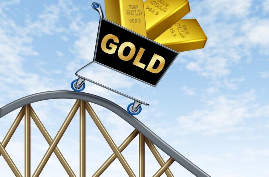 Не удержалось: золото снова ниже $1 900