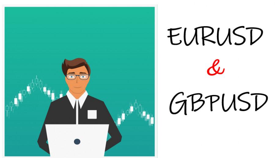 Торговые рекомендации по валютному рынку для начинающих трейдеров EURUSD и GBPUSD 08.06.21