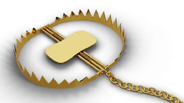 Idea de negociación para el oro