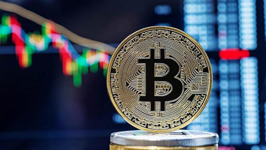 Bitcoin fell down again