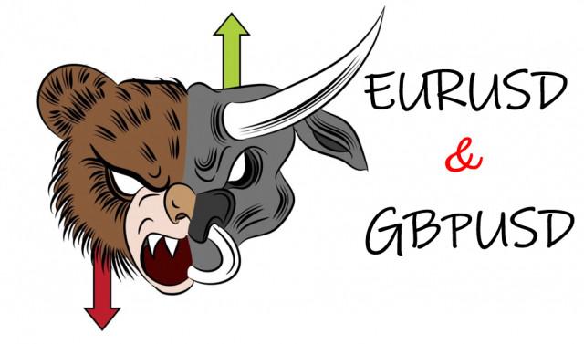 Торговые рекомендации по валютному рынку для начинающих трейдеров EURUSD и GBPUSD 24.06.21