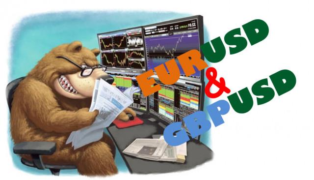 Учимся и анализируем, торговые рекомендации для начинающих трейдеров EURUSD и GBPUSD 20.07.21