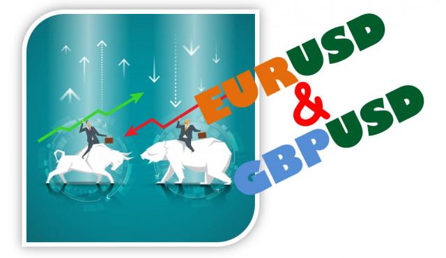 Учимся и анализируем, торговые рекомендации для начинающих трейдеров EURUSD и GBPUSD 22.07.21