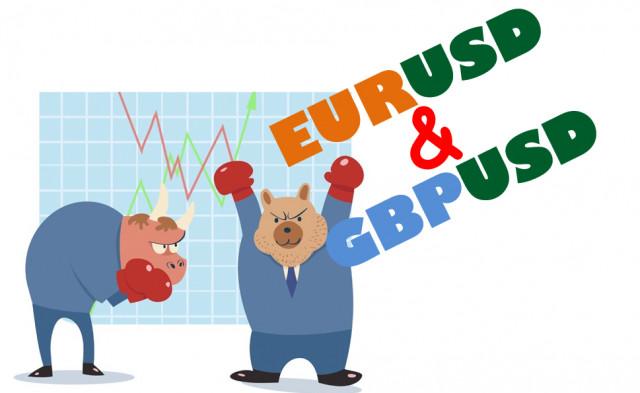 Учимся и анализируем, торговые рекомендации для начинающих трейдеров EURUSD и GBPUSD 23.07.21