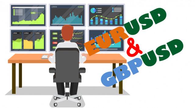 Учимся и анализируем, торговые рекомендации для начинающих трейдеров EURUSD и GBPUSD 26.07.21
