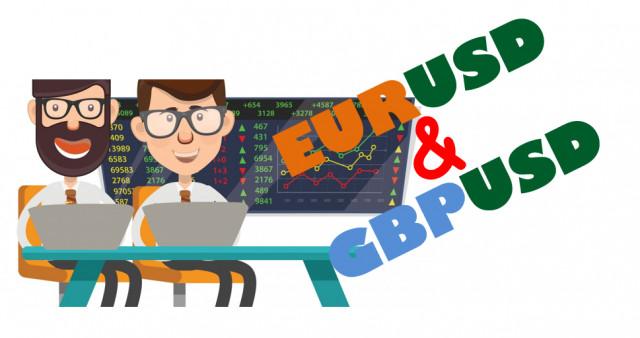 Учимся и анализируем, торговый план для начинающих трейдеров EURUSD и GBPUSD 27.07.21