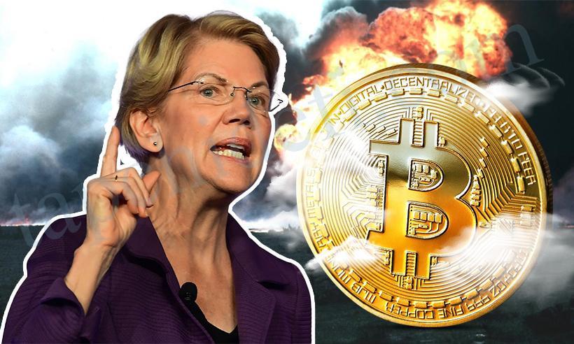 US Senator Elizabeth Warren says cryptocurrencies should be taxable